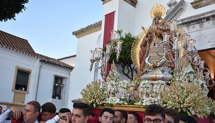 La patrona de San Roque salió en procesión