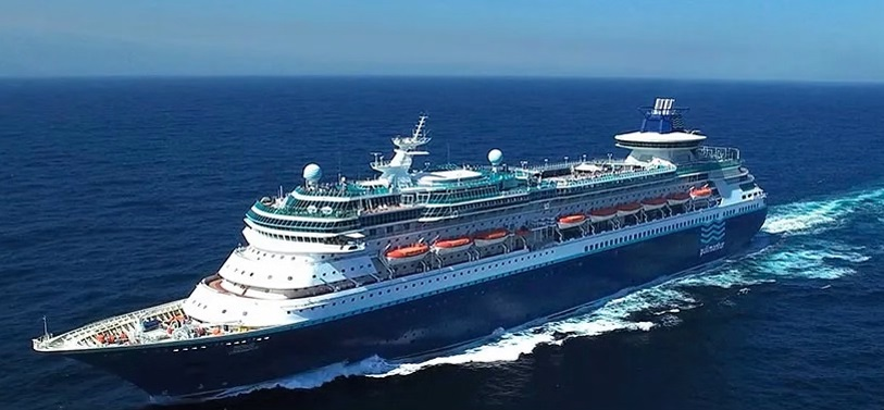 Imagen del crucero.