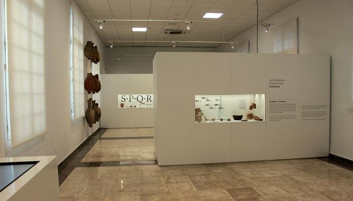 Las piezas cedidas a la Alhambra, de vuelta en el Museo de Algeciras