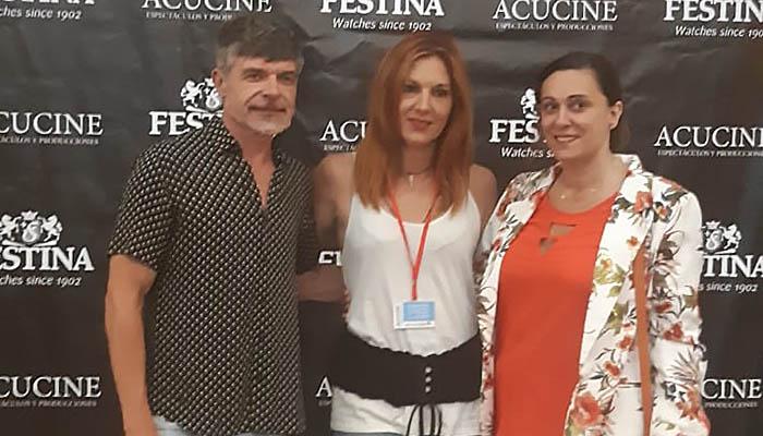Nacho Guerreros, Eva Prieto y Elena Greandia