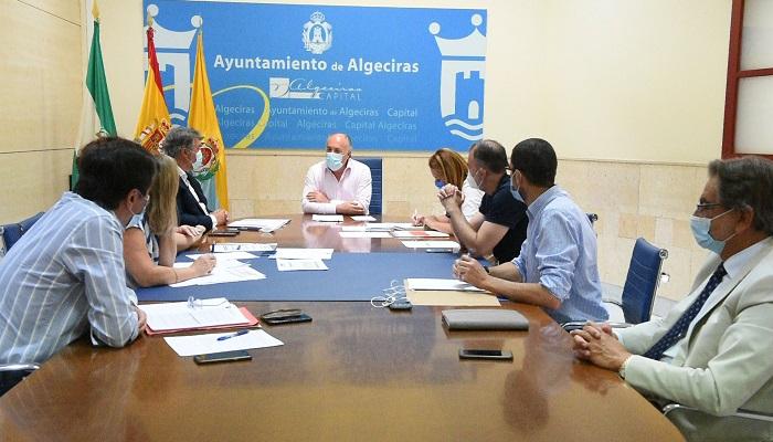 Landaluce se reúne con el director provincial de la Agencia de Vivienda