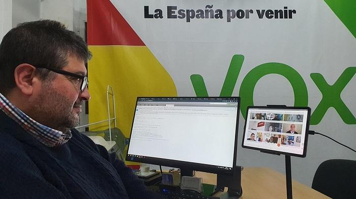 Vox Algeciras pide volver a la normalidad política