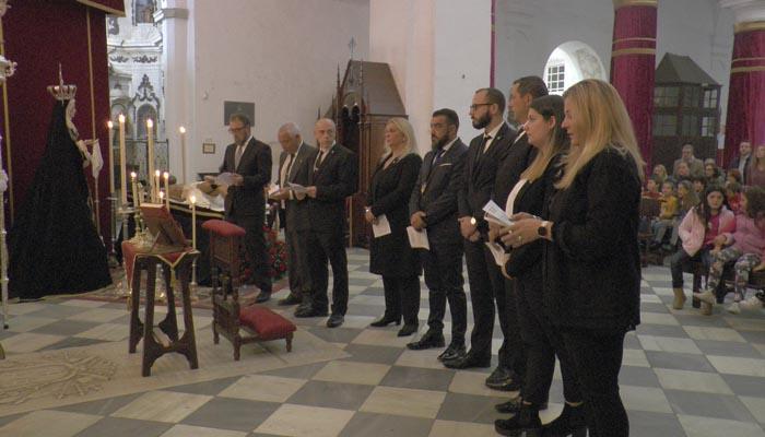Imagen de la toma de posesión de la nueva junta de Gobierno