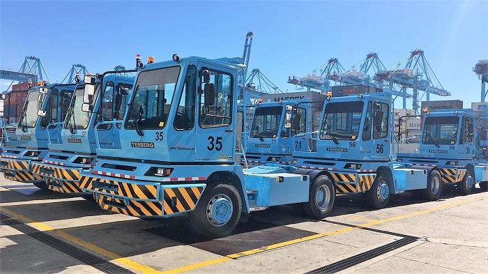 Estas son las nuevas tractoras de APM Terminal Algeciras