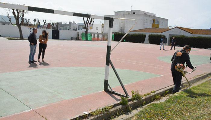 Uno de los colegios en los que se están realizando obras