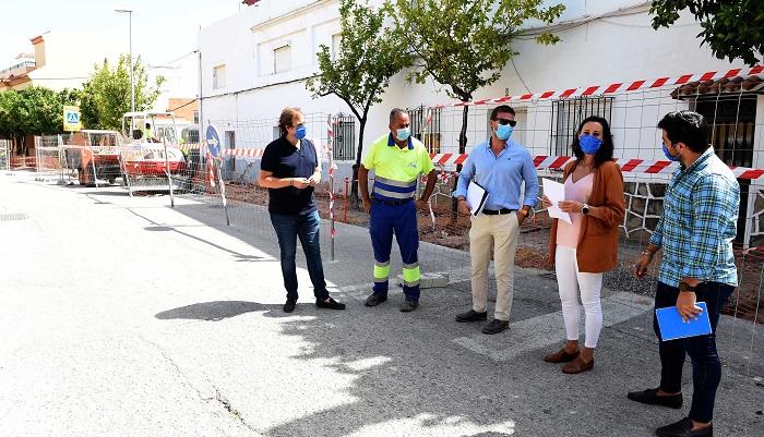 El Ayuntamiento de Algeciras ejecuta obras en la calle Luis Cano Toba