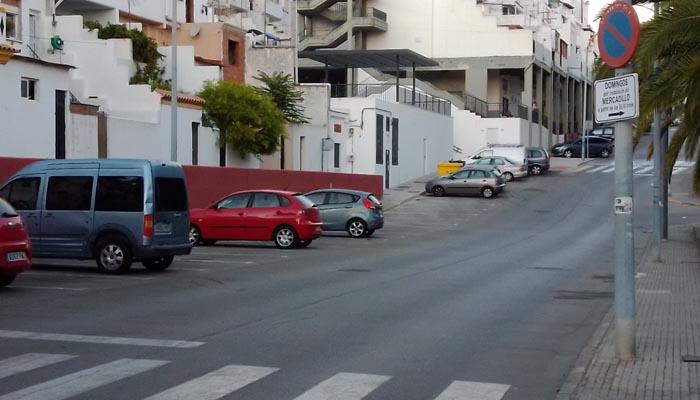 Barrio de Los Olivillos, donde se encuentra La Noe