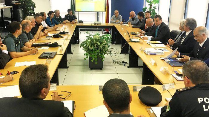 Comité Provincial de la OPE celebrado hoy en Algeciras