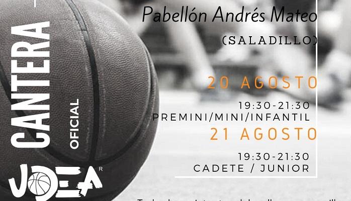 UDEA Algeciras anuncia entrenos para la cantera los días 20 y 21 de agosto