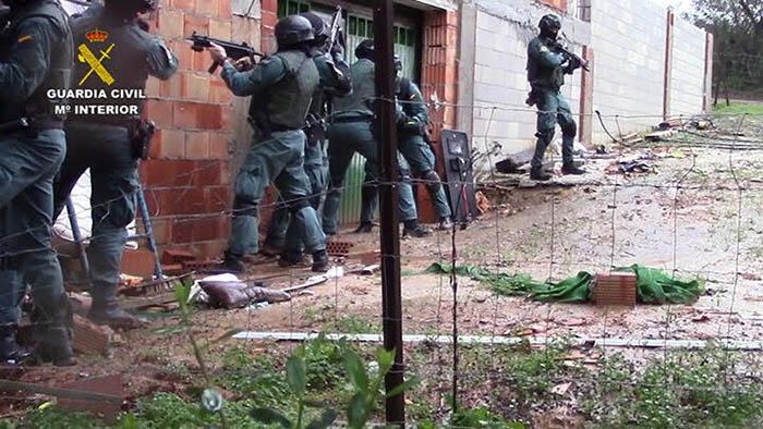 Operación Albarracín de la Guardia Civil contra la droga