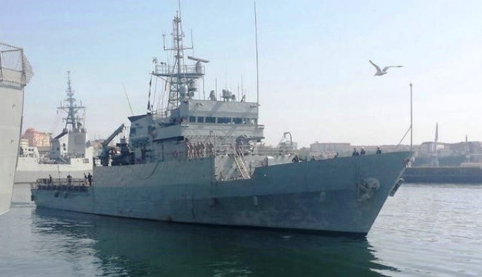 El patrullero de altura 'Atalaya' tiene su base en Ferrol. Foto EMAD