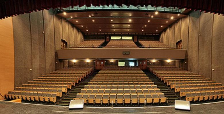 Interior del Palacio de Congresos de La Línea