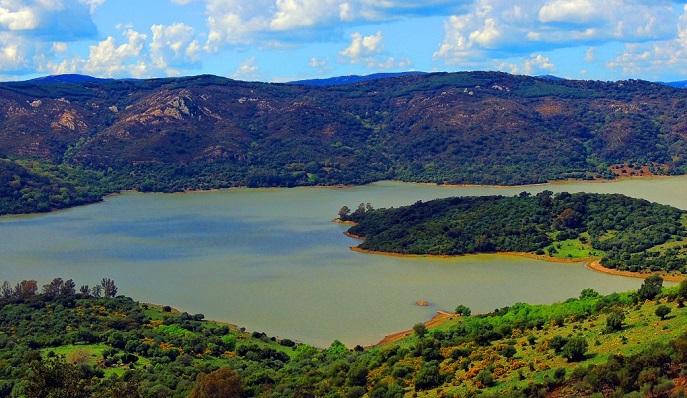 El pantano Guadarranque, en Castellar, en una imagen de archivo
