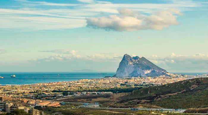 Panorámica del Peñón de Gibraltar