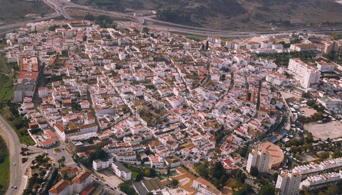 Imagen panorámica de San Roque Casco
