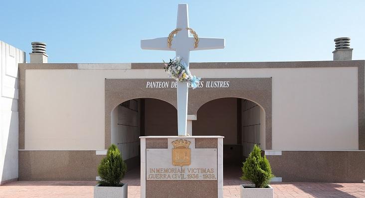 El Panteón de los Ilustres, ubicado en el Cementerio Municipal de La Línea