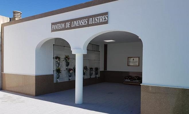 El Panteón de los Ilustres, en el cementerio Municipal de La Línea