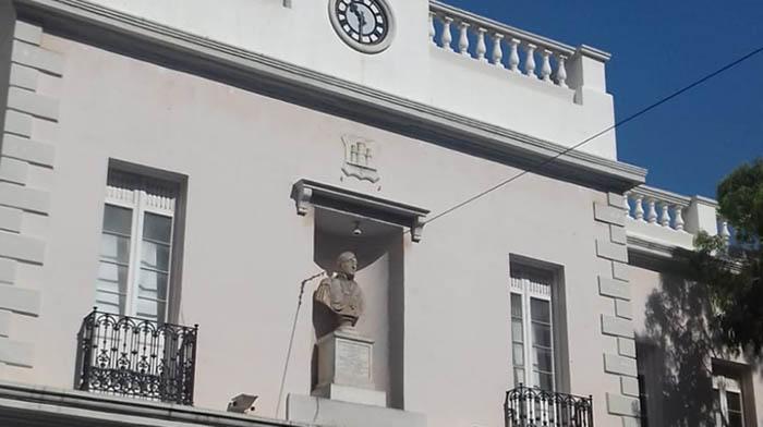 Edificio del Parlamento gibraltareño. Foto NG