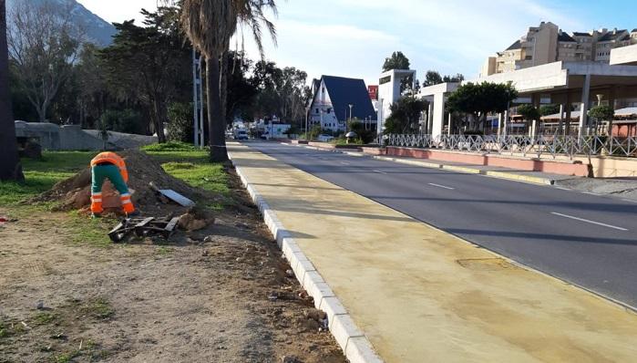 Una zona cercana a los hechos ocurridos en el entorno al Parque Princesa Sofía