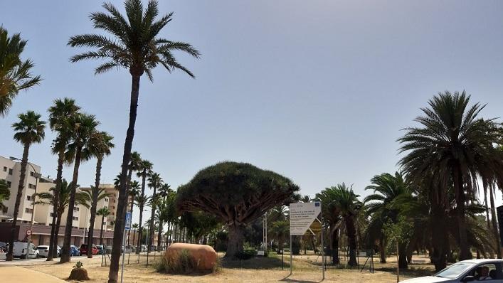 El Parque 'Princesa Sofía' de La Línea