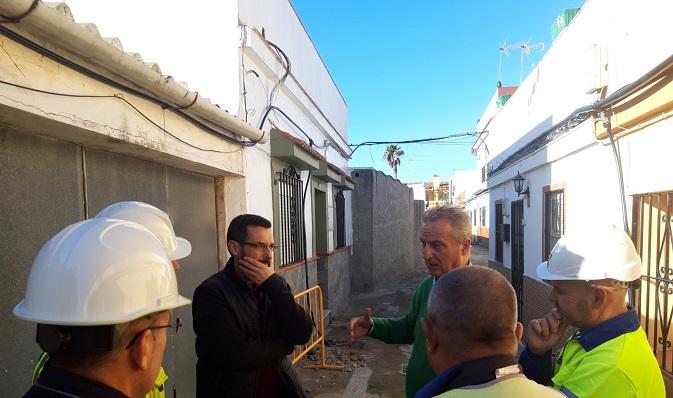 Juan Franco y Momo Valle visitaron la zona hace unas semanas