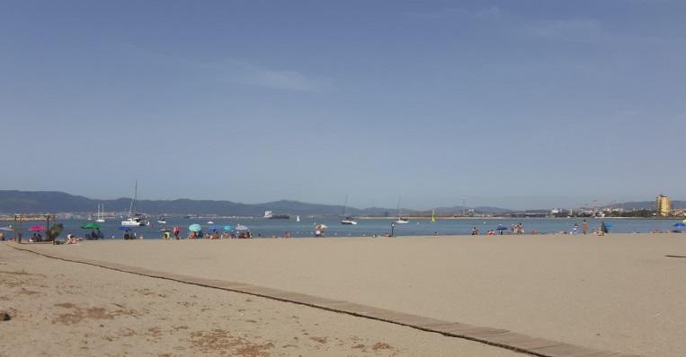 Playa de Poniente, en La Línea de la Concepción