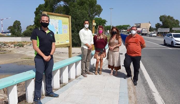 Inaugurado el sendero Paseo del Sur entre la Atunara y el arroyo Cachón