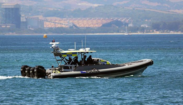 Una de las patrulleras marítimas de la RGP