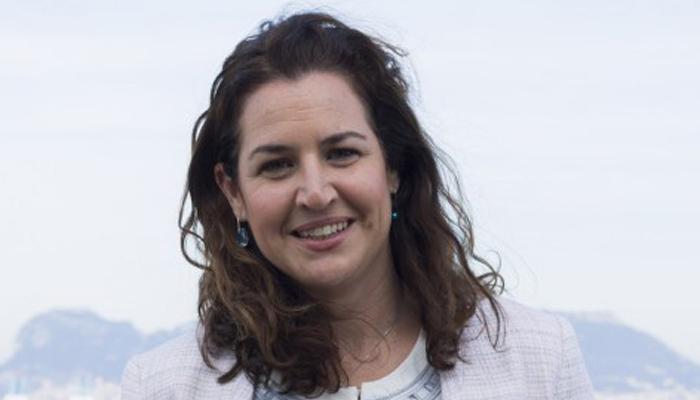 Paula Conesa, delegada de Igualdad y Bienestar Social de Algeciras