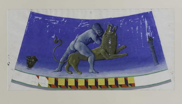 Imagen de la obra de Pérez Villalta