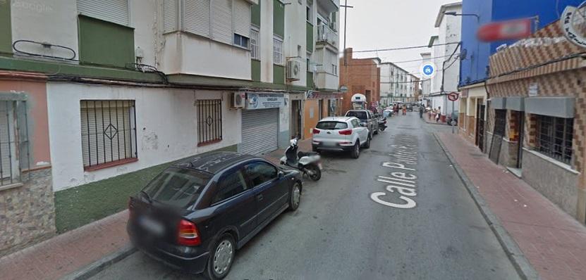Una calle de la Barriada 'Periáñez'. Foto. NG