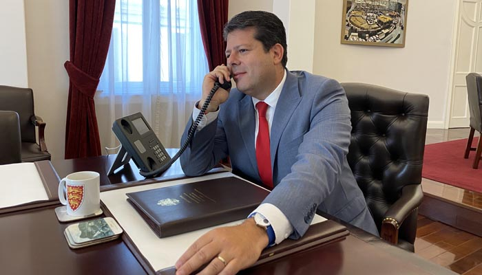 Fabián Picardo ha mantenido una conversación por teléfono con Moreno Bonilla.