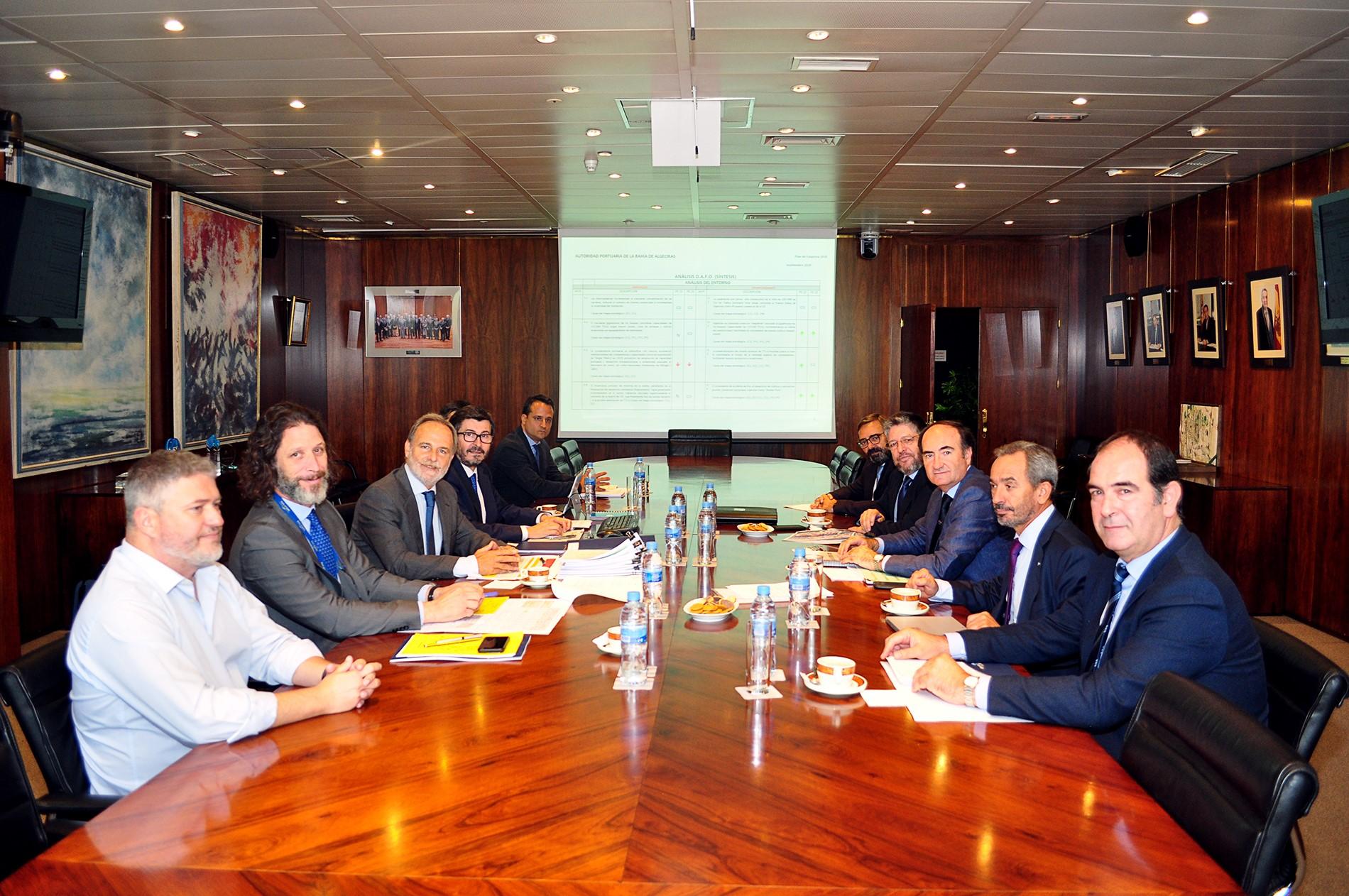 La APBA presenta a Puertos del Estado el Plan de Empresa 2020