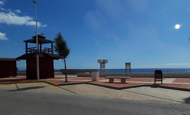 Imagen de la Playa 'Santa Bárbara', en La Línea de la Concepción