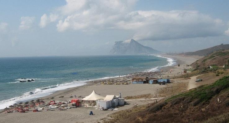La Playa de 'La Alcaidesa', en La Línea de la Concepción