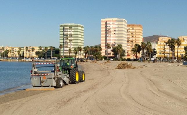 Una imagen de archivo de la playa de Poniente de La Línea