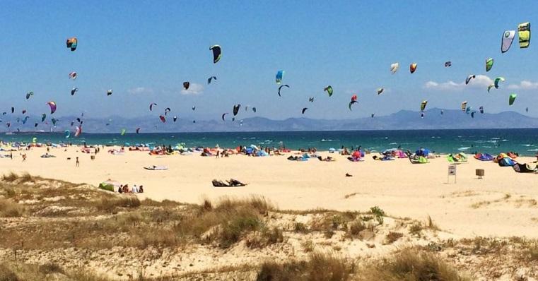 Una de las playas de Tarifa