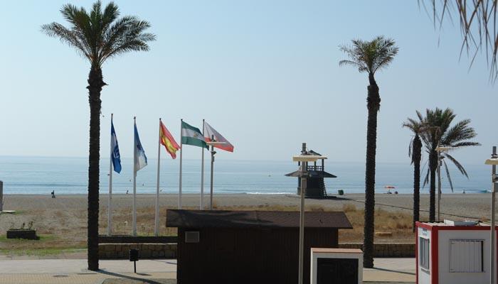 Imagen de archivo de la playa de Torreguadiaro