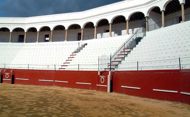 Interior de la Plaza de Toros de San Roque