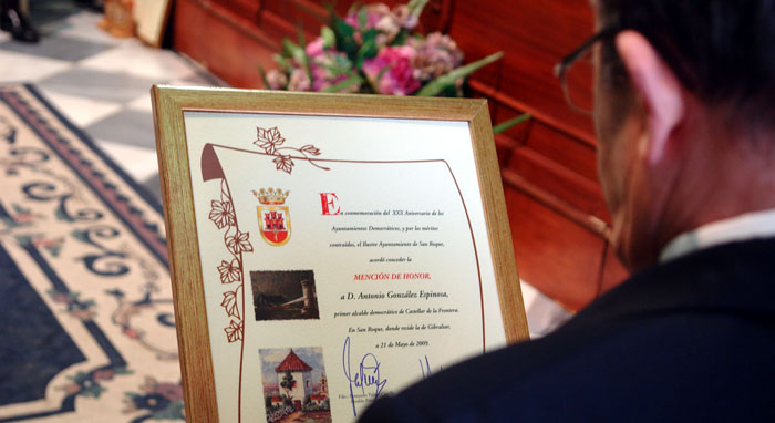 Imagen de archivo de otro Pleno Institucional de San Roque