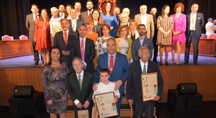 Fotografía de familia del Pleno Institucional de San Roque
