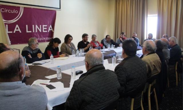Rodríguez y Urban en la reunión mantenida en La Línea
