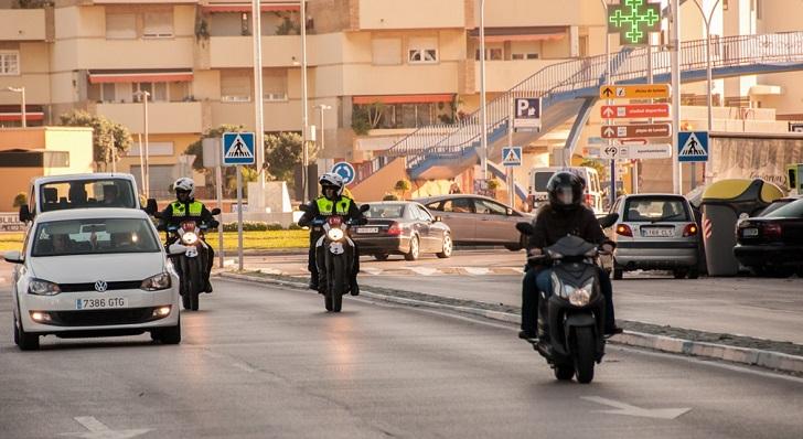 Agentes de la Policía Local de La Línea