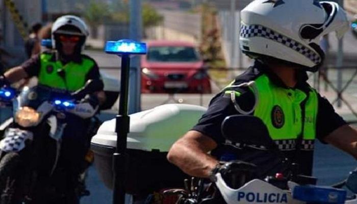 Imagen de agentes de la Policía Local de Algeciras