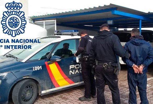 Una detención de la Policía, en una imagen de archivo
