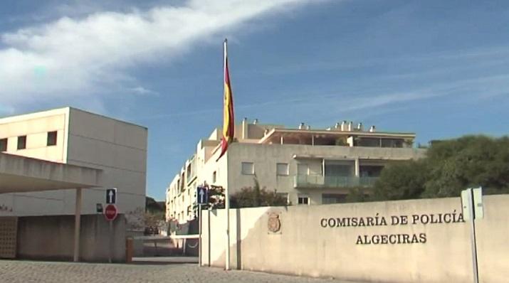 La Comisaría del Cuerpo Nacional de Policía en Algeciras