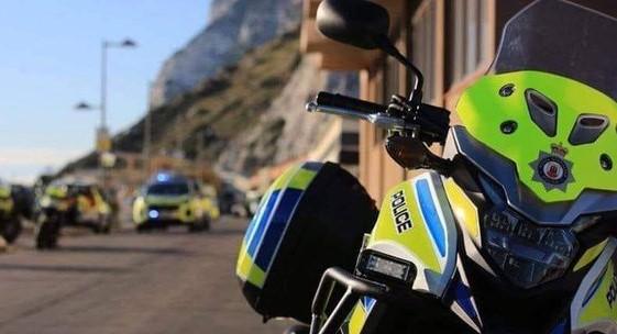 Vehículos de la Policía de Gibraltar. Foto NG