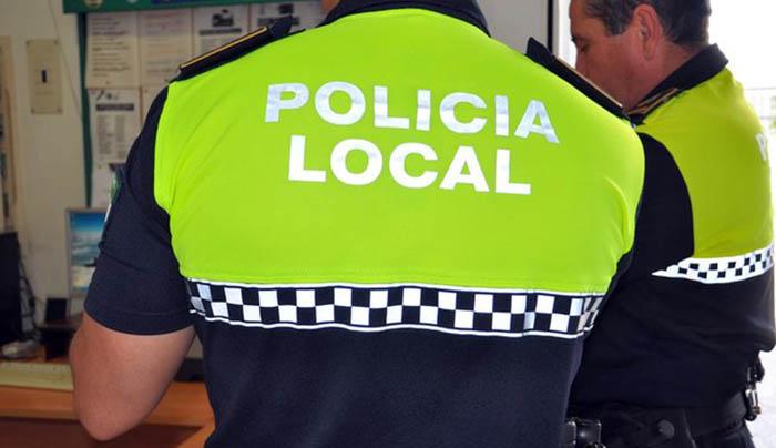 Agentes de la Policía Local. Foto NG