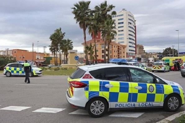 Un control de la Policía Local de Algeciras. Foto: NG