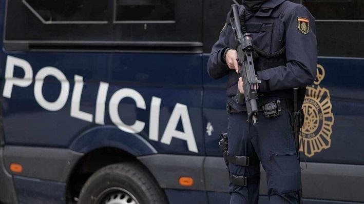 Una foto de archivo de un agente de la Policía Nacional. Foto: NG